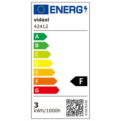 vidaXL LED-grondspots buiten rond 3 st