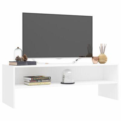 vidaXL Tv-meubel 120x40x40 cm spaanplaat wit