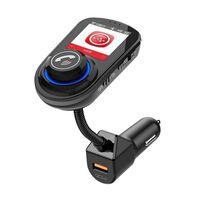 Bluetooth-adapter voor in de auto - FM-zender - autolader