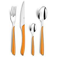 Amefa 24-delige Bestekset Eclat oranje