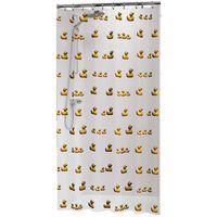 Sealskin Douchegordijn Duckling 180x200 cm geel