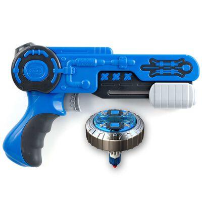 Silverlit Spinner Mad single shot blaster Mega Wave blauw