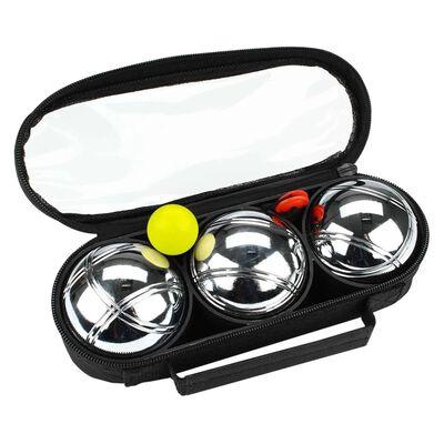 Get & Go Jeu de Boulesset  3 ballen zilver COD 52JP-COD-Uni