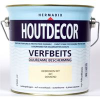 Houtdecor 601 gebroken wit 2500 ml
