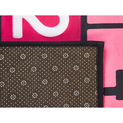 Beliani HONAZ Vloerkleed  Polyester 150 x 80 cm,