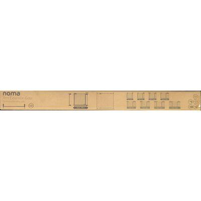 Noma Verlengstuk traphekje Easy Pressure Fit 7 cm metaal wit 93682