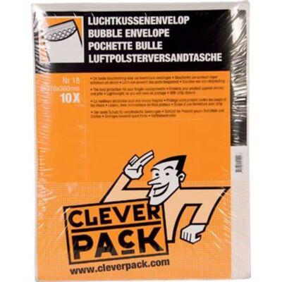 Cleverpack luchtkussenenveloppen, ft 270 x 360 mm, met stripsluitin...