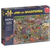 Jumbo legpuzzel Jan van Haasteren Flower Parade 1000 stukjes