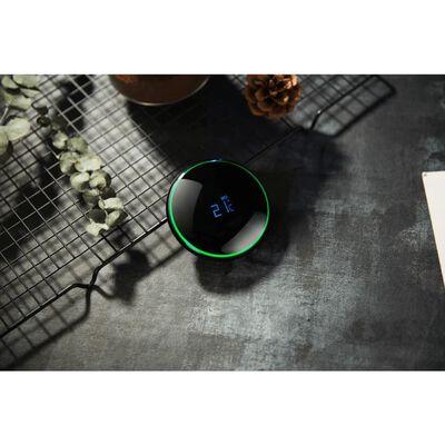 Smart Cup - zelfkoelende mok met temperatuur en LED - zwart