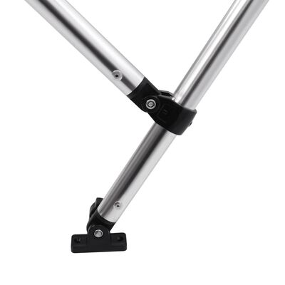 vidaXL Biminitop 3-boogs 183x140x137 cm wit