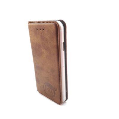 Samsung Galaxy S10 Lite - Bronzed Brown Ultra Dun Portemonnee Hoesje -