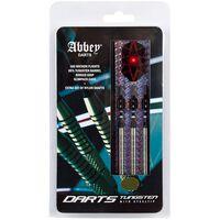 Abbey Darts dartpijlenset steeltip 85% tungsten zilver 24 gram