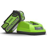 Greenworks Snellader 40 V 4 A