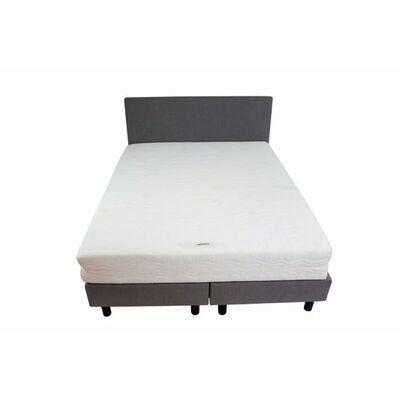 Bedworld Boxspring 120 X 200 Cm - Twijfelaar (120 Cm Breed) - Grijs