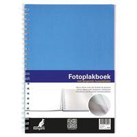 Kangaro K-750114 Fotoplakboek 33x23cm Blauw. Met Pergamijnvellen. 3...