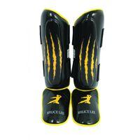 Bruce Lee scheembeschermers Signature zwart/geel maat S/M