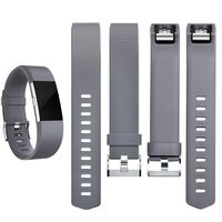 Fitbit Charge 2 Armband Grijs (s)