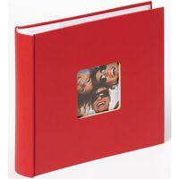 Walther Design Fotoalbum Fun Memo 200 foto's 10x15 cm rood