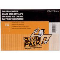Cleverpack bordrugenveloppen, ft 162 x 229 mm, met stripsluiting, w...