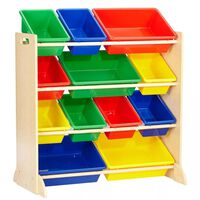 KidKraft Kinderopbergmeubel Sort It & Store It primaire kleuren