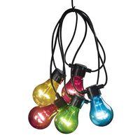 KONSTSMIDE Feestverlichting met 20 lampen meerkleurig