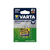 Varta Rechargeable Accu AAA/HR03 R2U 800 mAh