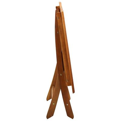vidaXL Tuintafel inklapbaar 120x70x75 cm massief acaciahout