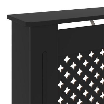 vidaXL Radiatorombouw 78 cm MDF zwart