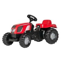 Rolly Toys traptractor RollyKid Zetor Forterra 135 junior rood