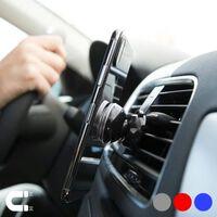Magnetische Mobiele Telefoonhouder voor in Auto 145954 Zilverkleurig