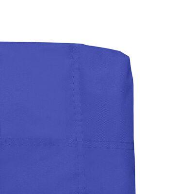 vidaXL Campingstoelen inklapbaar 2 st blauw