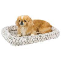 Ferplast Honden- en kattenmatras Tender 120 122x76x5 cm lichtgrijs