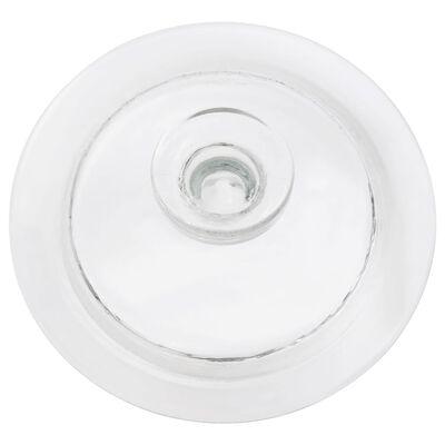 vidaXL Opbergpotten met deksel 4 st 3850 ml glas