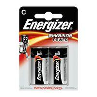 Energizer EN-E300152100 Alkaline Batterij C 1.5 V Power 2-blister