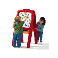 Step2 Ezel voor 2 kinderen met magnetische letters en cijfers
