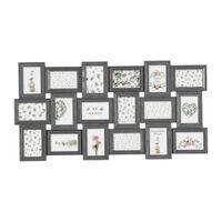 Decopatent XL Fotolijst Collage voor 18 Foto's van 10x15 en 15x10 Cm