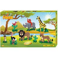 Hama Strijkkralen Safari 6000 Delig