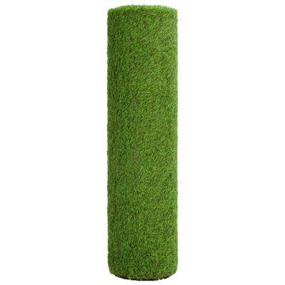 vidaXL Kunstgras 1,5x5 m/40 mm groen