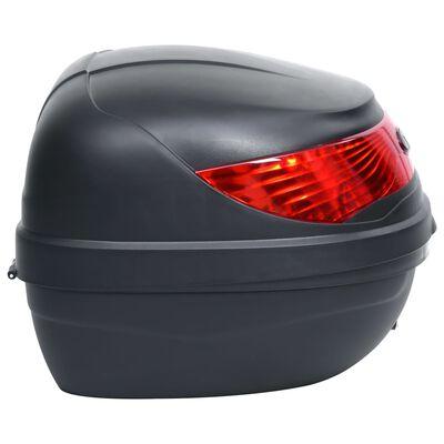 vidaXL Topkoffer voor motor 35 L voor 1 helm