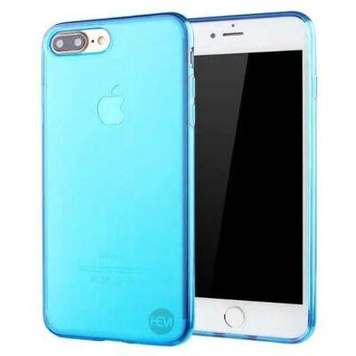 iPhone SE 2020 blauw siliconenhoesje transparant siliconenhoesje /