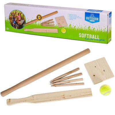 OUTDOOR PLAY Balspel Softball hout