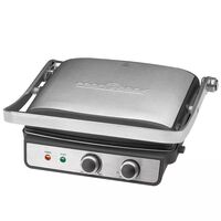 ProfiCook Contact Grill 2000 W Zilver PC-KG 1029