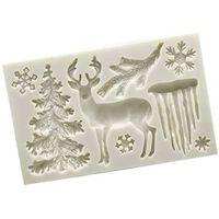 Bakvormen Met Kerstthema Van Siliconen / Verschillende Motieven