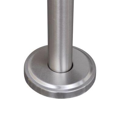 Brievenbusstandaard roestvrij staal