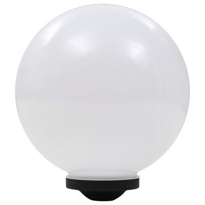 vidaXL LED-solarlampen rond 30 cm RGB 2 st