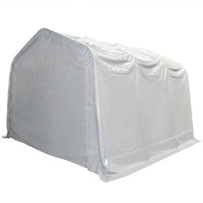 vidaXL Opslagtent 550 g/m² 4x6 m PVC wit