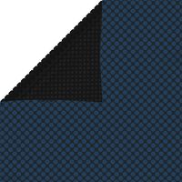 vidaXL Zwembadfolie solar drijvend 549x274 cm PE zwart en blauw