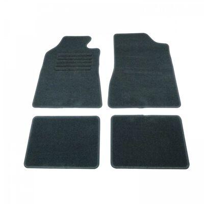 Carpoint automattenset semipasvorm A grafiet zwart 4-delig