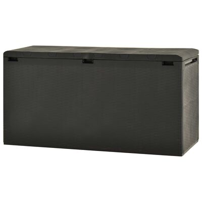 vidaXL Tuinbox 114x47x60 cm antraciet