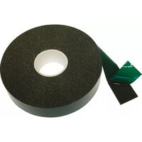 Carpoint dubbelzijdige tape 25 mm 5 meter zwart